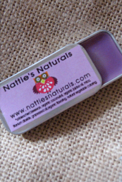 Nostalgic Rectangular Tin Lip Balm